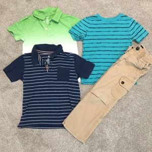 👑Gap Pants. Boys, and Assorted shirts 5t